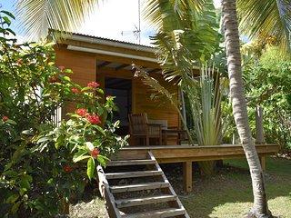 Bungalow de charme 'kazatipunch' a 200m de la plage du lagon de Saint Francois