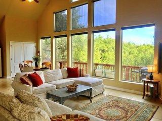 The Hummingbird Treehaus in Canyon Lake, Texas 2/2 with loft sleeps 6 Lake view!