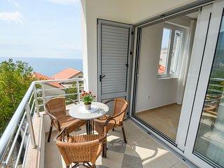 Apartments Ivanovic - Studio with Balcony and sea view