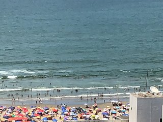 Cobertura com Vista Praia Grande - 2 suites - 100m praia