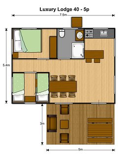 2 chambres salle de bain cuisine équipée jacuzzi balancoire table picnique