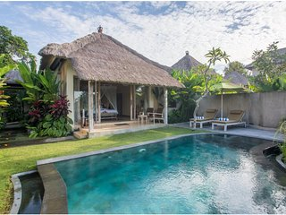 1 BR Private Pool Villa + Breakfast+Modern Amenities W/Lovely Staff   (AM22)