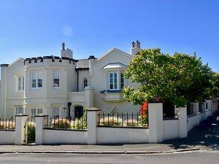 Impressive Victorian Gothic-style Coastal Home, Sleeps 10 + Hot Tub