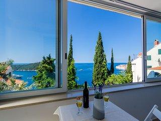 Apartment Dabelić - Studio Apartment with Sea View