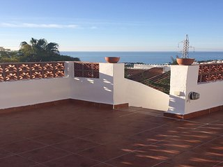 Amazing views from roof terrace and 2 more terraces Nerja