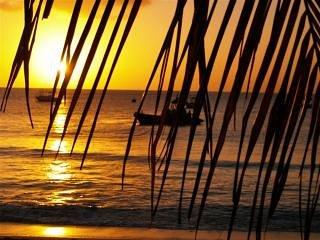 Sunset at Holetown beach