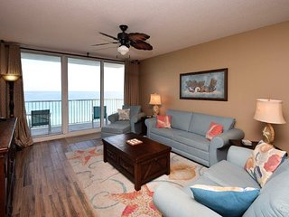 Gulf-front getaway condo with shared pool, hot tub, fitness center, and more!
