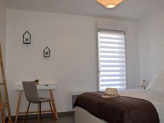 Havre de Paix -charmant appartement pour 4 personnes dans residence avec piscine
