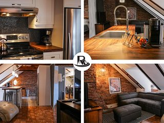Loft Penthouse in the Heart of Old-Quebec!