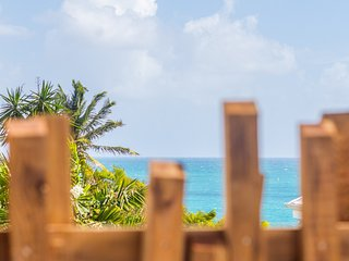 Iguane House villas & micro spa / Amazing villa pool, sea view, 4pers