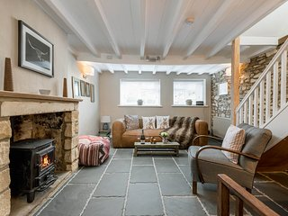 Parsley Cottage is an idyllic retreat with an abundance of character features.