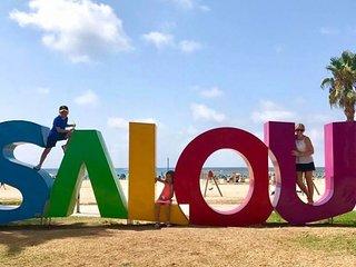 SALOU , SPAIN. BEAUTIFUL FAMILY APARTMENT CLOSE TO THE BEACH. 500£ppw