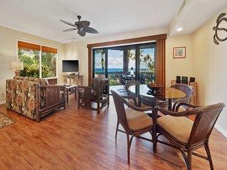 Ocean Vista+Island Vibe! Wood Floors, Modern Kitchen, WiFi, TV, Lanai Kanaloa