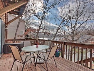Charming Home w/Private Dock on Lake of the Ozarks