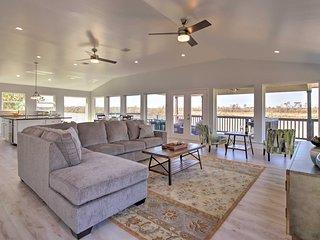 NEW! Modern San Jacinto Home w/ Waterfront Deck!