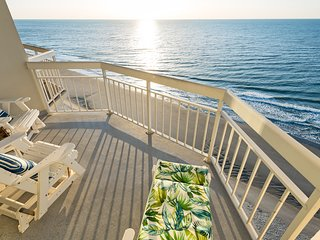 Water's Edge Resort Suite 1504 1BR/2BA Oceanfront Condo, Penthouse Floor