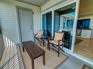 Enjoy a Beautiful Gulf Sunset from the Screened Porch on Resort Villa, A3621A