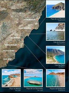 Entorno de la Isleta del Moro, Parque Natural Cabo de Gata, Reserva de la Biosfera por la Unesco