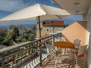 Lovely Apartment Kika with Seaview