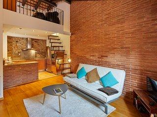 Apartamento duplex en el Barri Vell