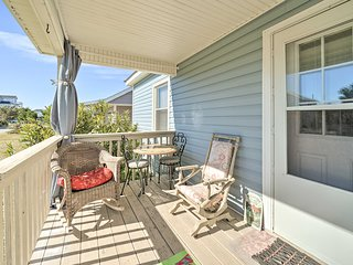 NEW! Surf City House Steps to Beach: Pets Welcome!