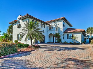 NEW! Mediterranean Home w/ Own Pool + Beach Access