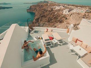 Iris Suite Caldera Sea View - Jacuzzi & Breakfast