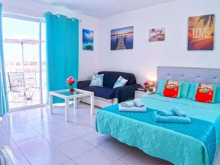 Lovely studio with ocean view in Costa Adeje