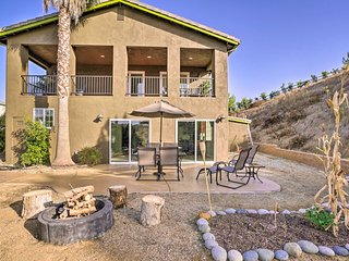 Large Temecula House w/ Balcony - Near Vineyards