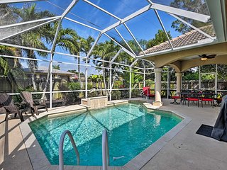 Naples Home w/ Private Heated Saltwater Pool/Lanai