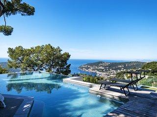 Villefranche-sur-Mer Villa Sleeps 10 with Air Con and WiFi - 5639114