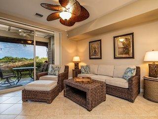 D1 Palm Villas at Mauna Lani.  Includes Mauna Lani Beach Club Pass