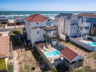 Sunny Outlook | 98 ft from the Beach | Private Pool, Hot Tub | Kitty Hawk