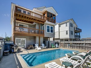 Greystone II | 760 ft from the beach | Private Pool, Hot Tub | Kill Devil Hills