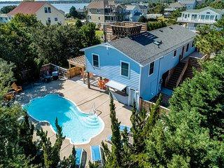 Let's Do Sunset | 3170 ft from the beach | Private Pool, Dog Friendly | Kill Dev