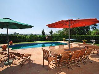 Quart d'Onyar Villa Sleeps 12 with Pool Air Con and Free WiFi - 5509110