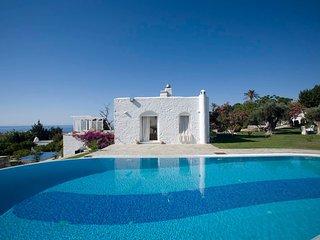Paros Villa Sleeps 10 with Pool and Air Con - 5478599