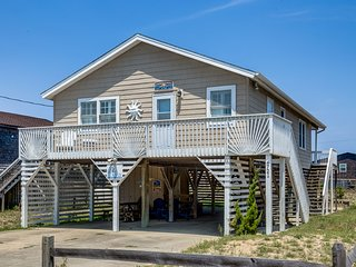 Sandpiper Shore Cottage | 682 ft from the beach | Hot Tub | Kitty Hawk