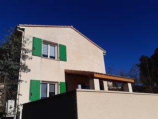 La Maison des Oréades - Gîte/piscine 8 personnes en Ardèche (Vals les Bains)