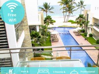 Spectacular Ocean Views Apartment. Playa Bavaro. Los Corales