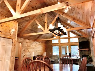 Priced LOW for New Launch! 4Bd Secluded Lake Cabin