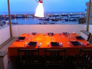 Romantic loft ideal couples with sea views