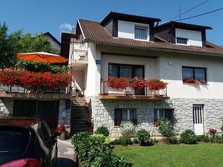 Slunj Apartment Sleeps 4 with Air Con - 5832011
