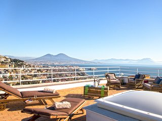 La Dimora, La Mansarda sul Golfo - Terrace with Breathtaking Views