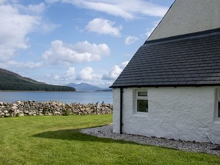 Old School, Dunans is set on the waterside with fantastic views of the coastline