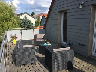 Amazing apt with garden & balcony