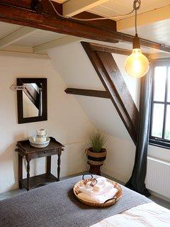 Slaapkamer Huisje Vogelenzang Zeeland