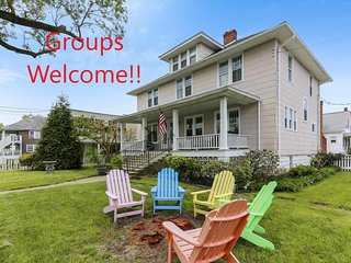 509 Philadelphia Ave. - Sleeps 19! Pet-Friendly, Yard & Grill - Groups Welcome!