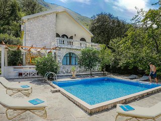 Stunning home in Kotor w/ WiFi, 4 Bedrooms and Outdoor swimming pool (MNK200)