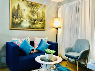 Condo 2 bedroom fully furnished In Pasig City with  Wifi